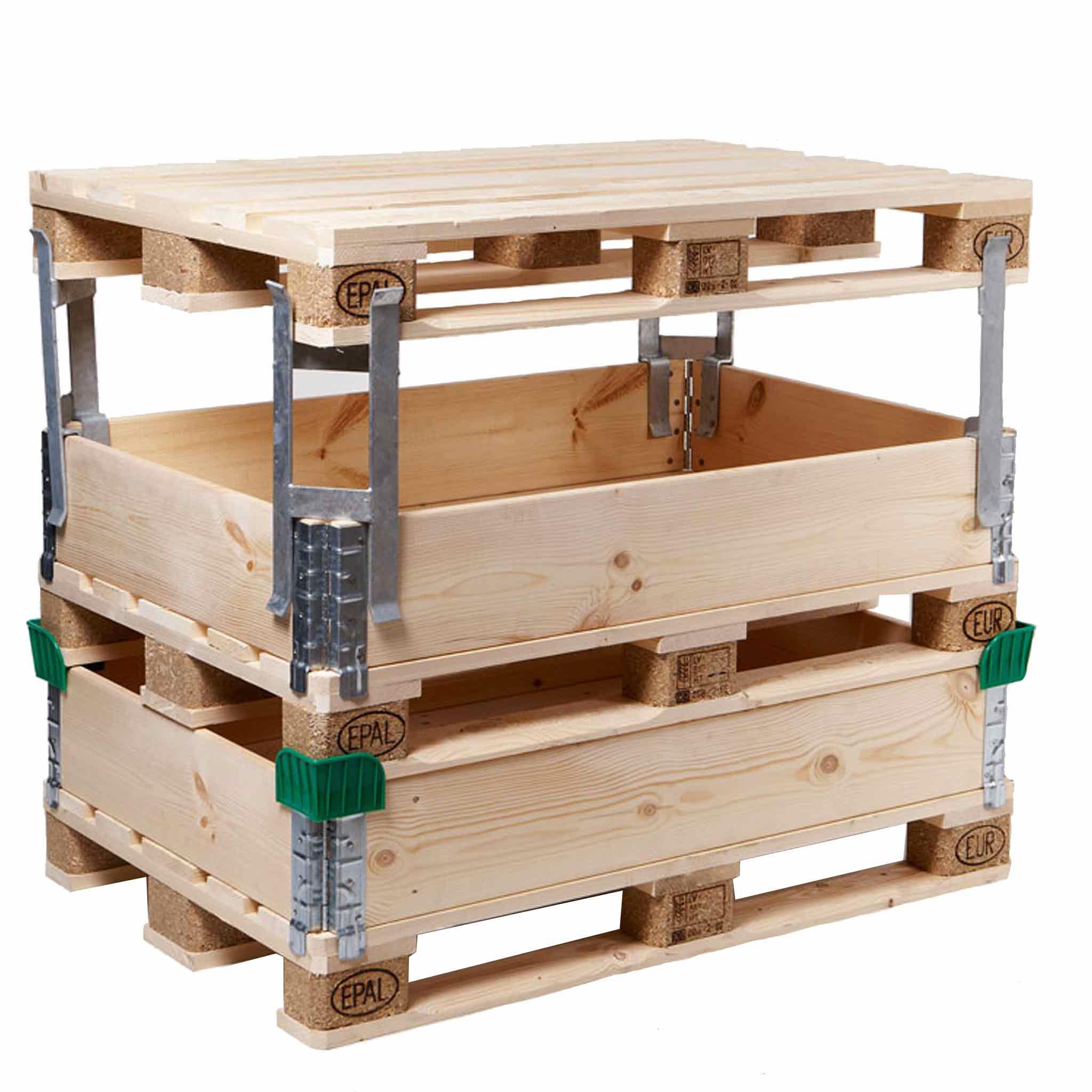 Abstandshalter aus Metall für Holzaufsatzrahmen
