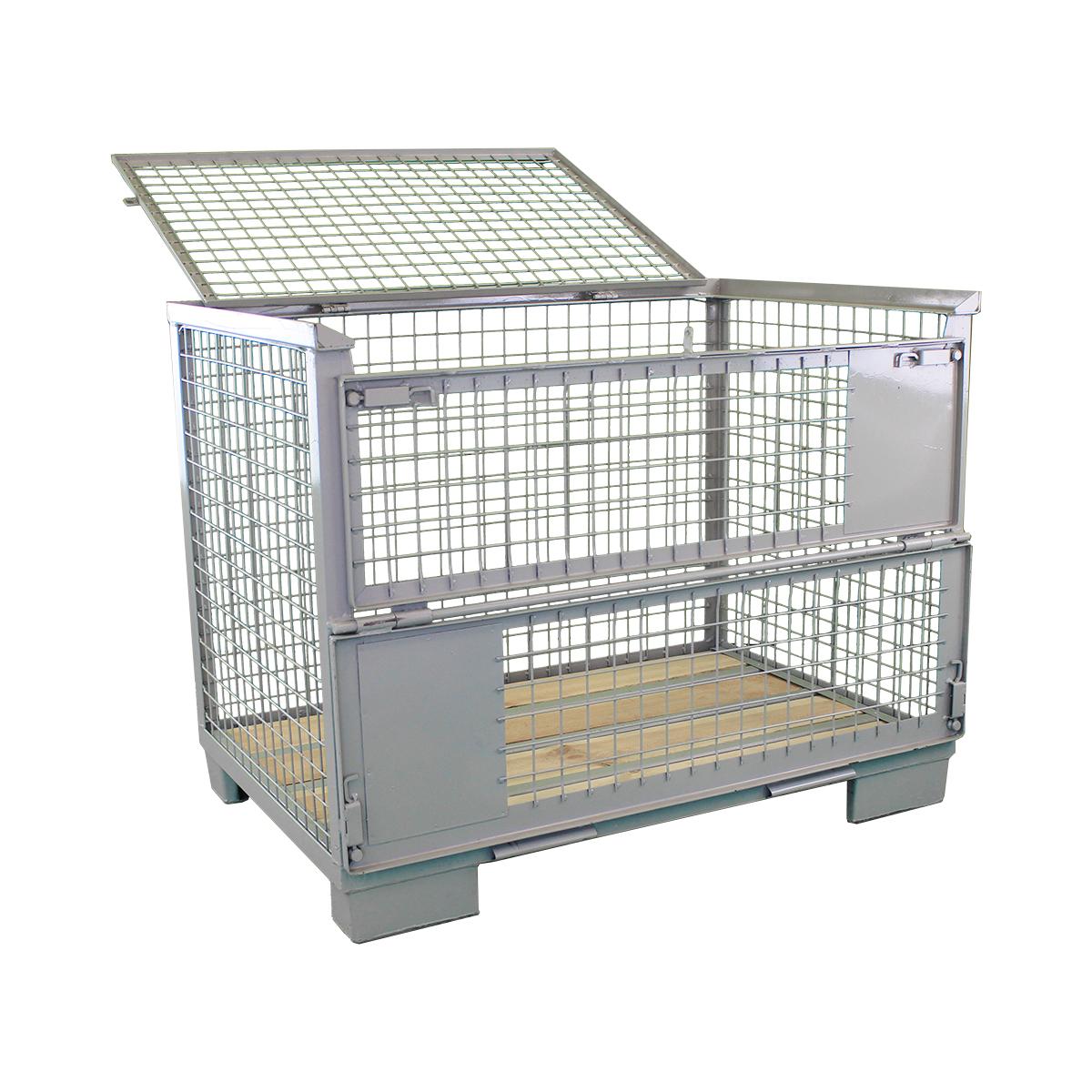 Gitterbox mit Gitterdeckel