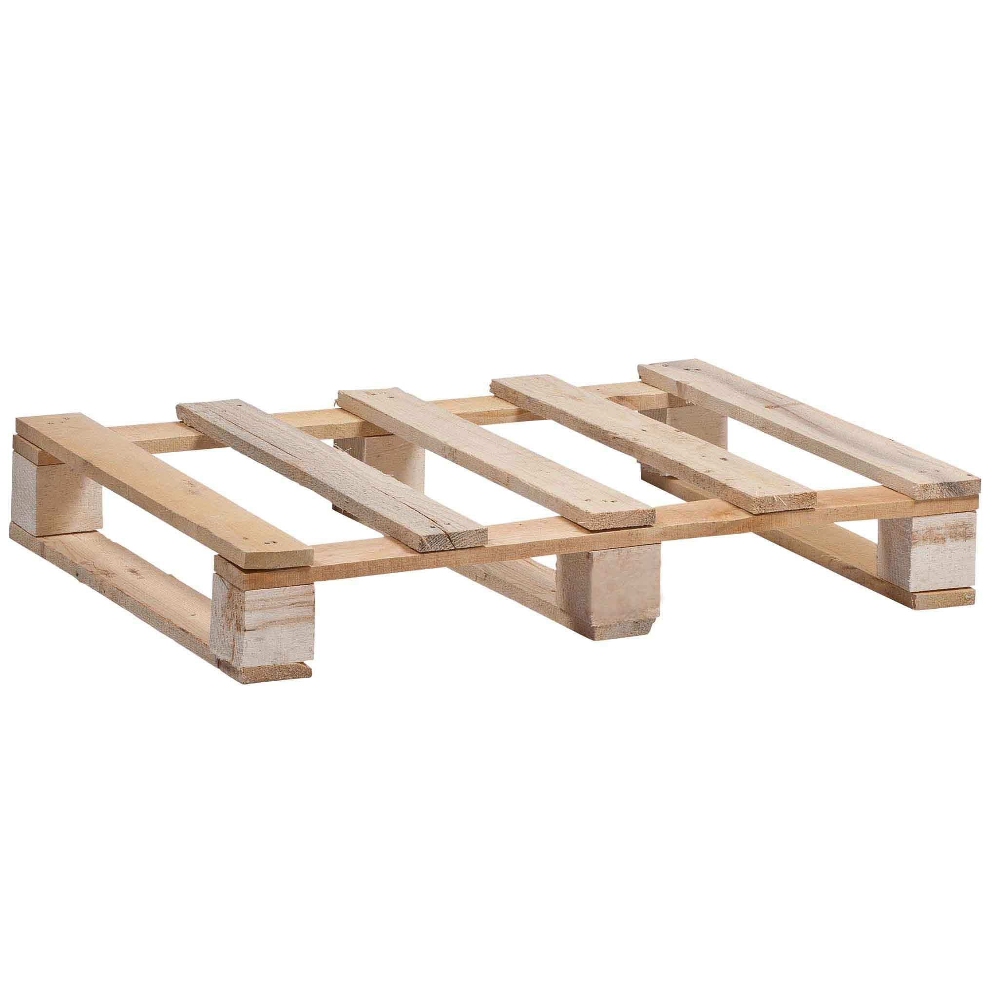 IPPC-Holzpaletten Größe 600 x 400 mm