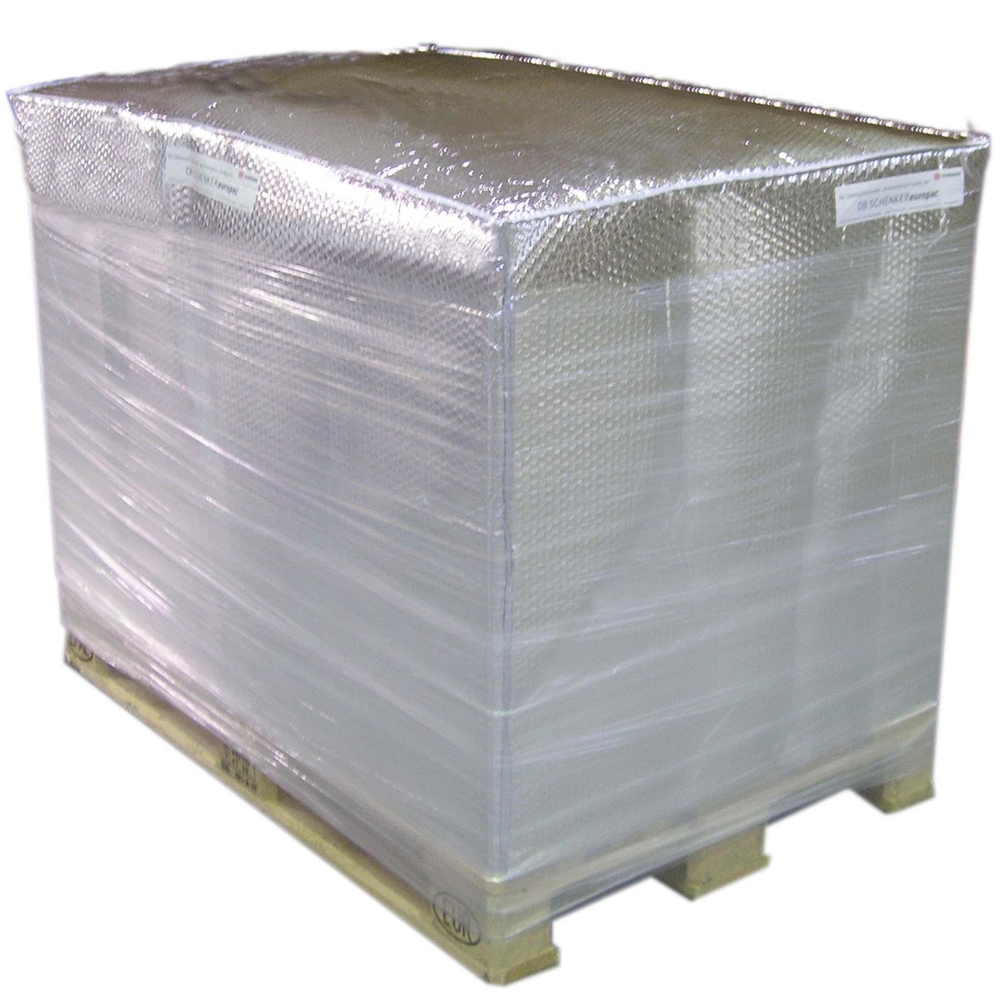 Thermoschutz für Paletten |  800 X 600 X 1.200 mm