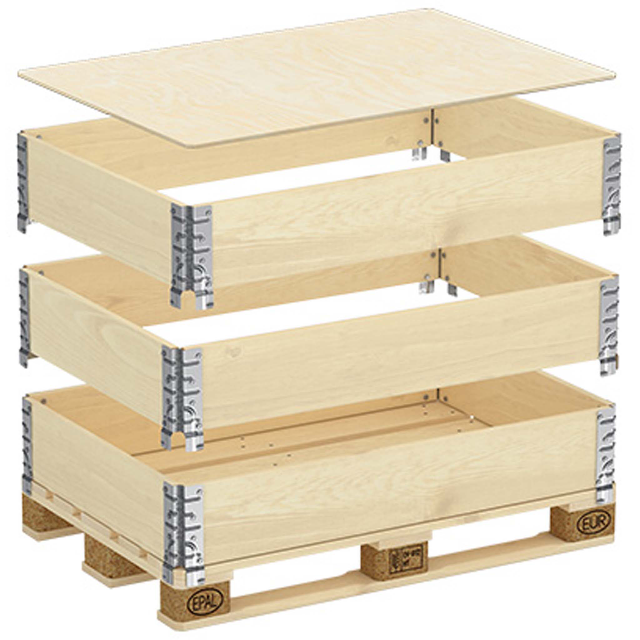 Deckel für Holzaufsatzrahmen