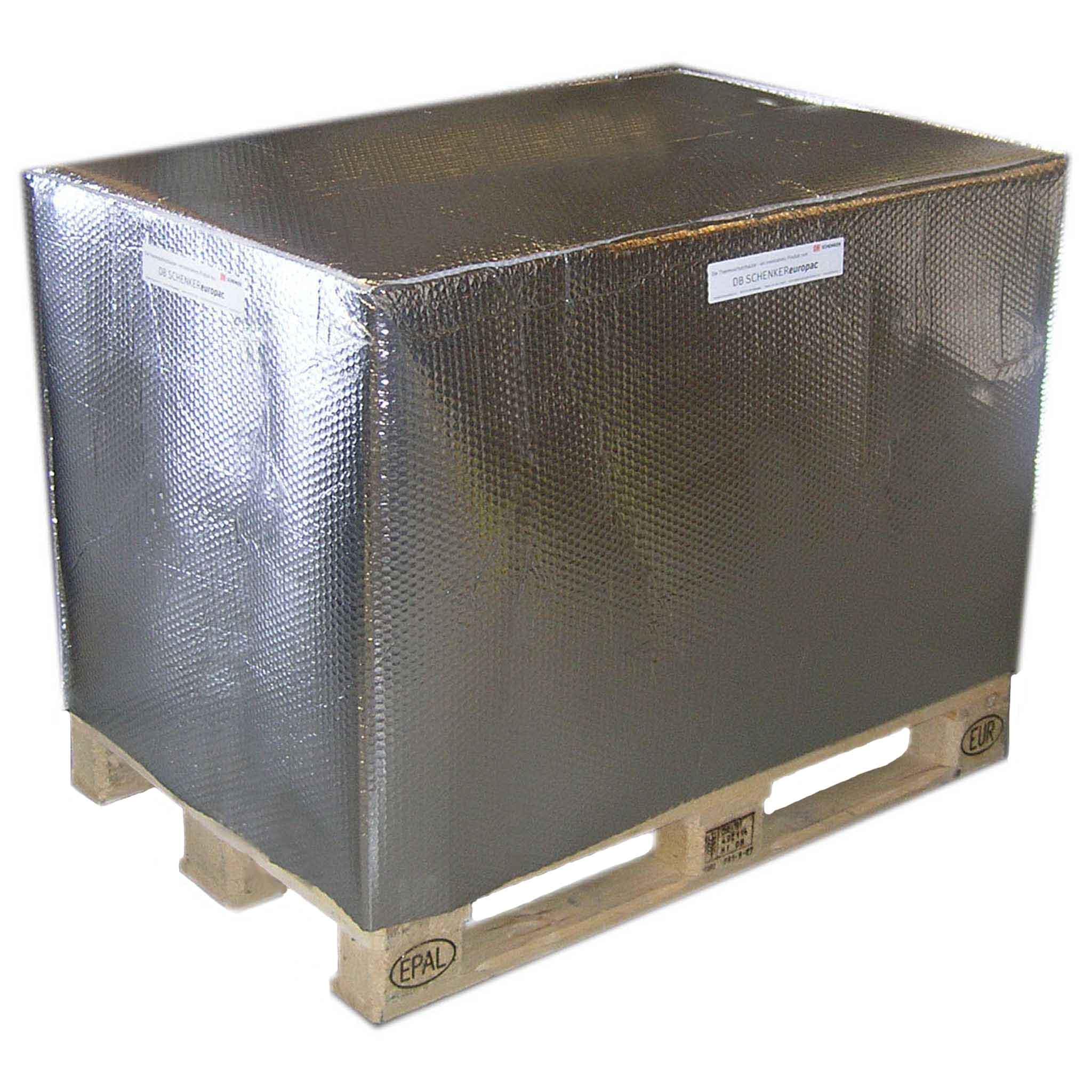 Thermoschutz für Paletten | 1.200 X 1.000 X 1.200 mm