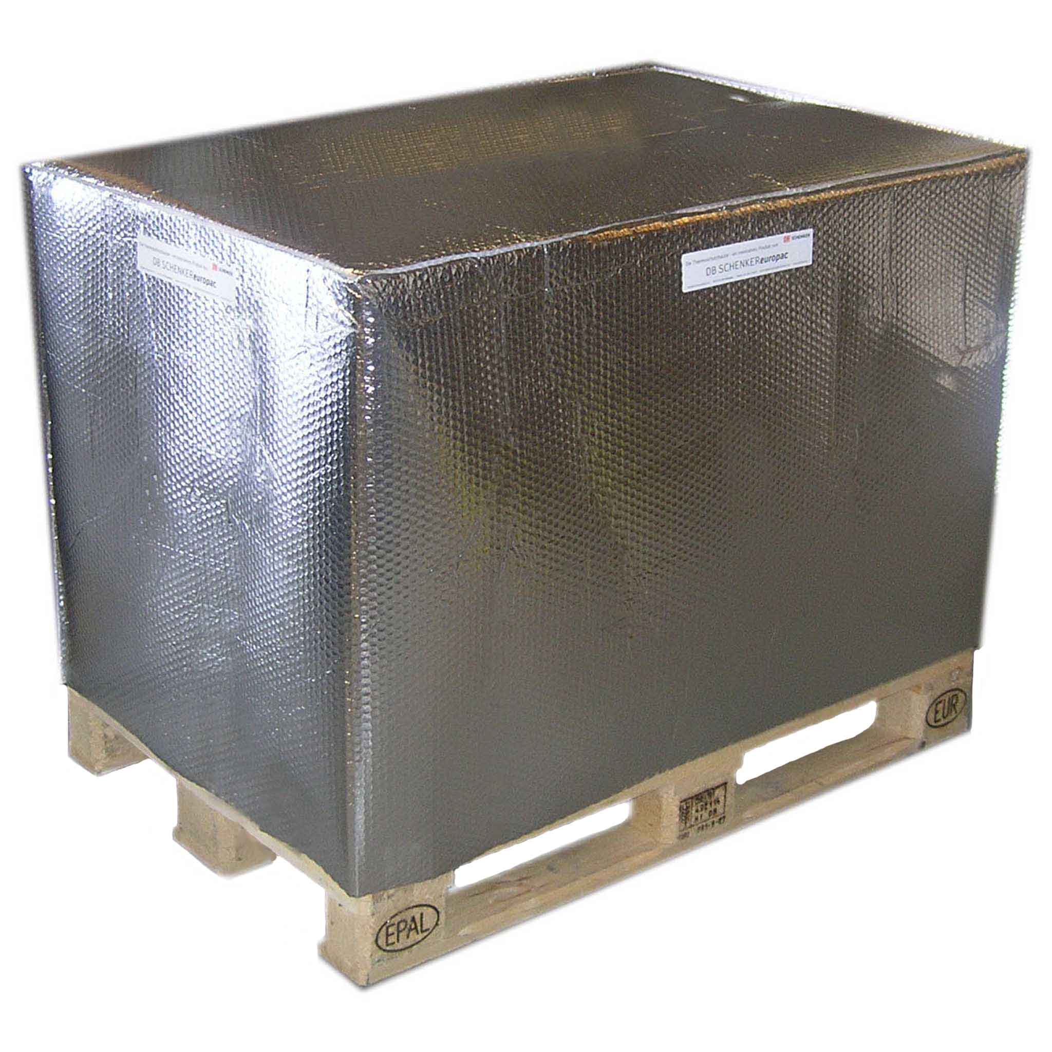 Thermoschutz für Paletten | 800 X 600 X 1.000 mm