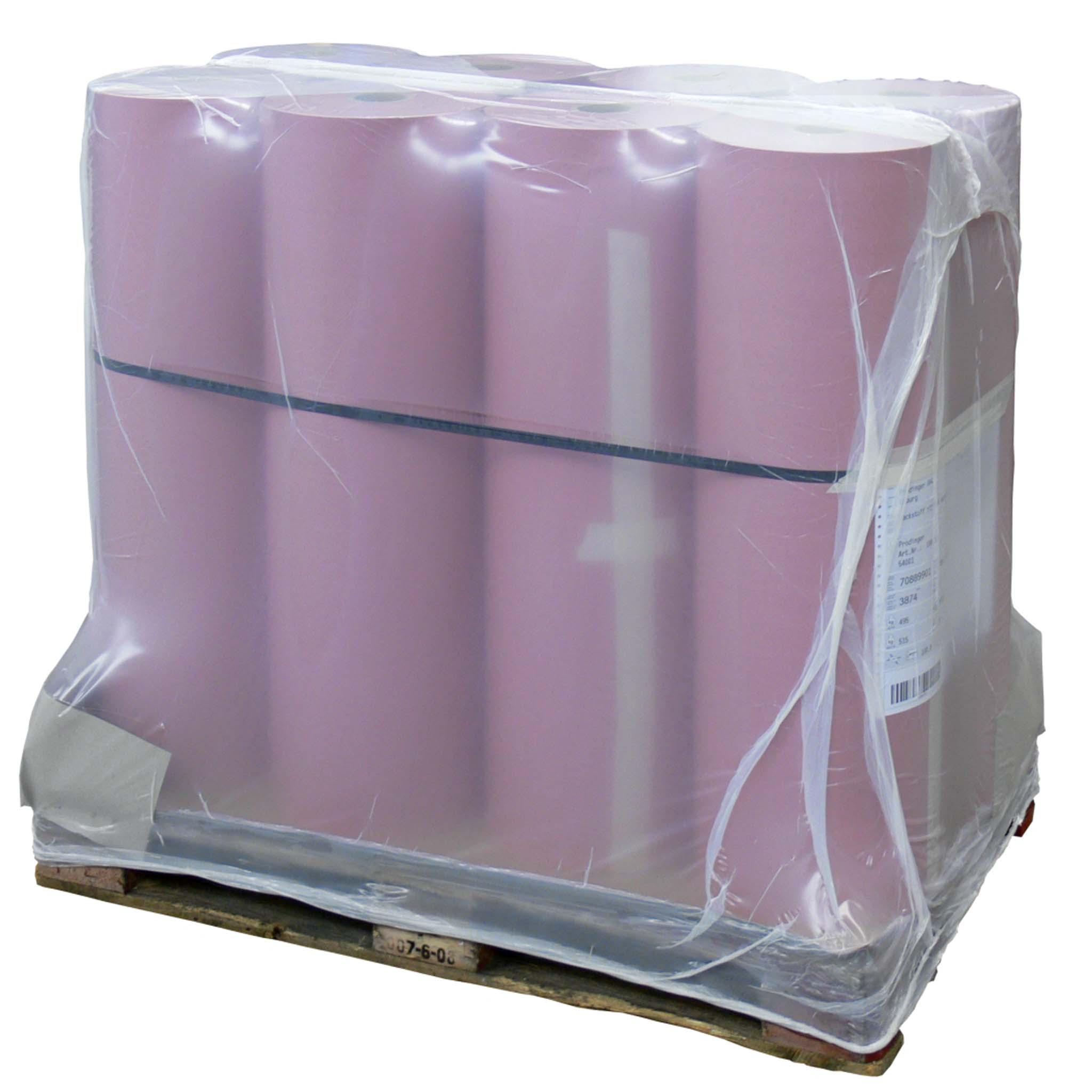LDPE-Schrumpfhauben Größe 1.250 + 850 x 2.300 mm