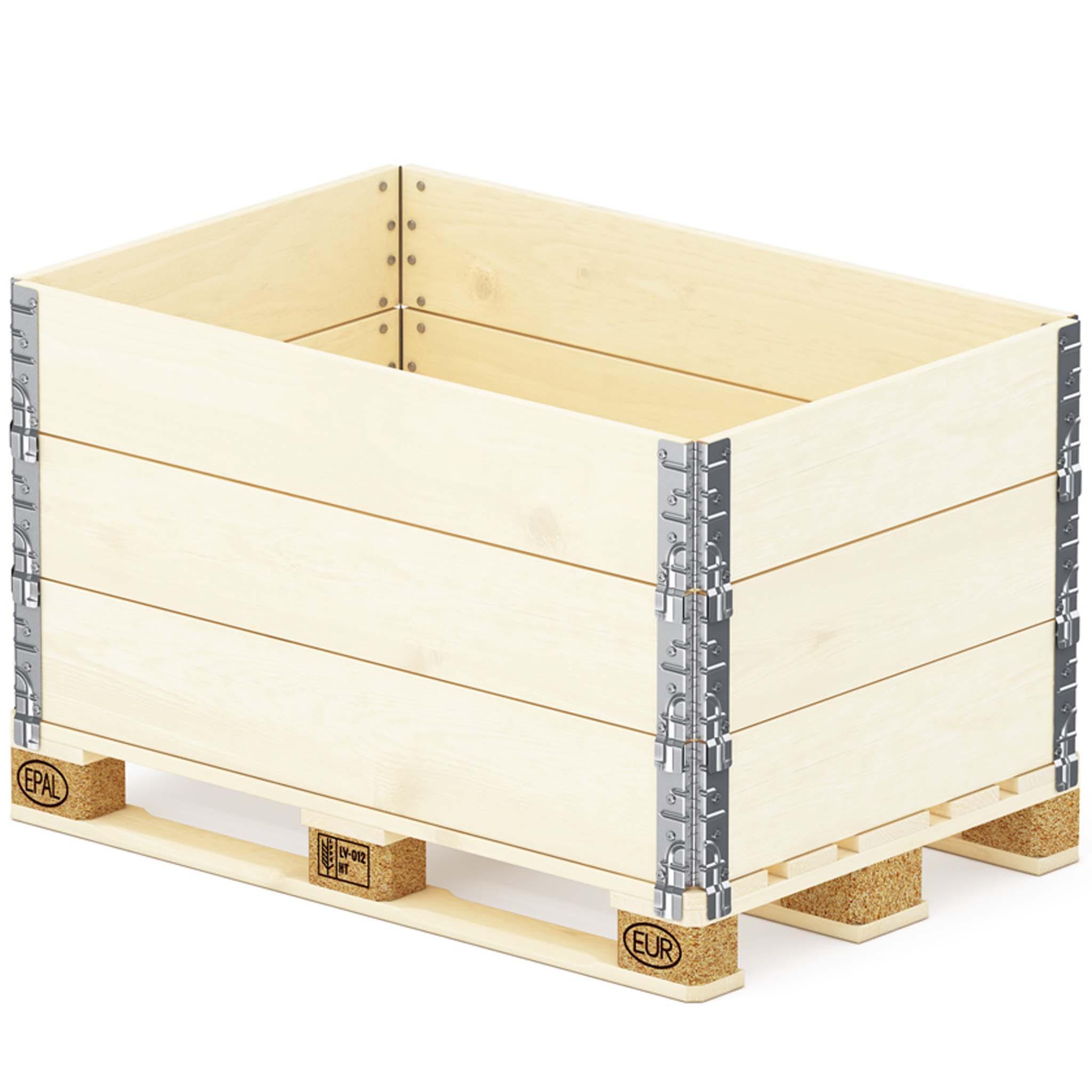 Holzaufsatzrahmen | 1-Brett Ausführung 1