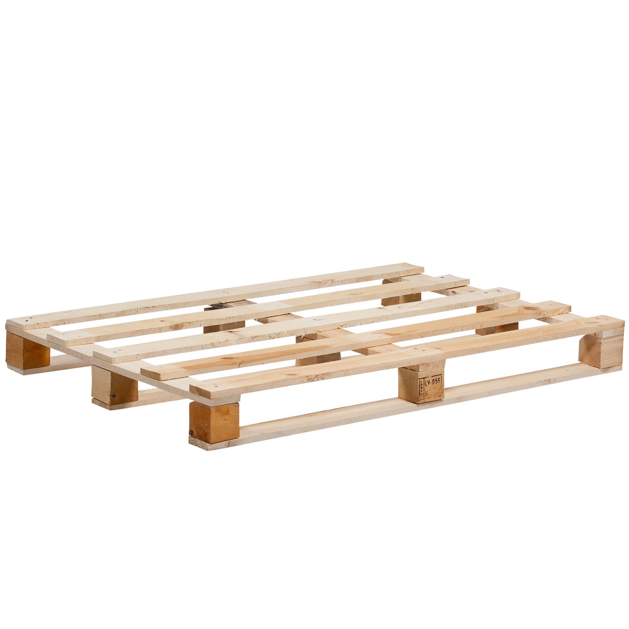 Holz-Einweg-Palette Größe 1.200 x 800 mm