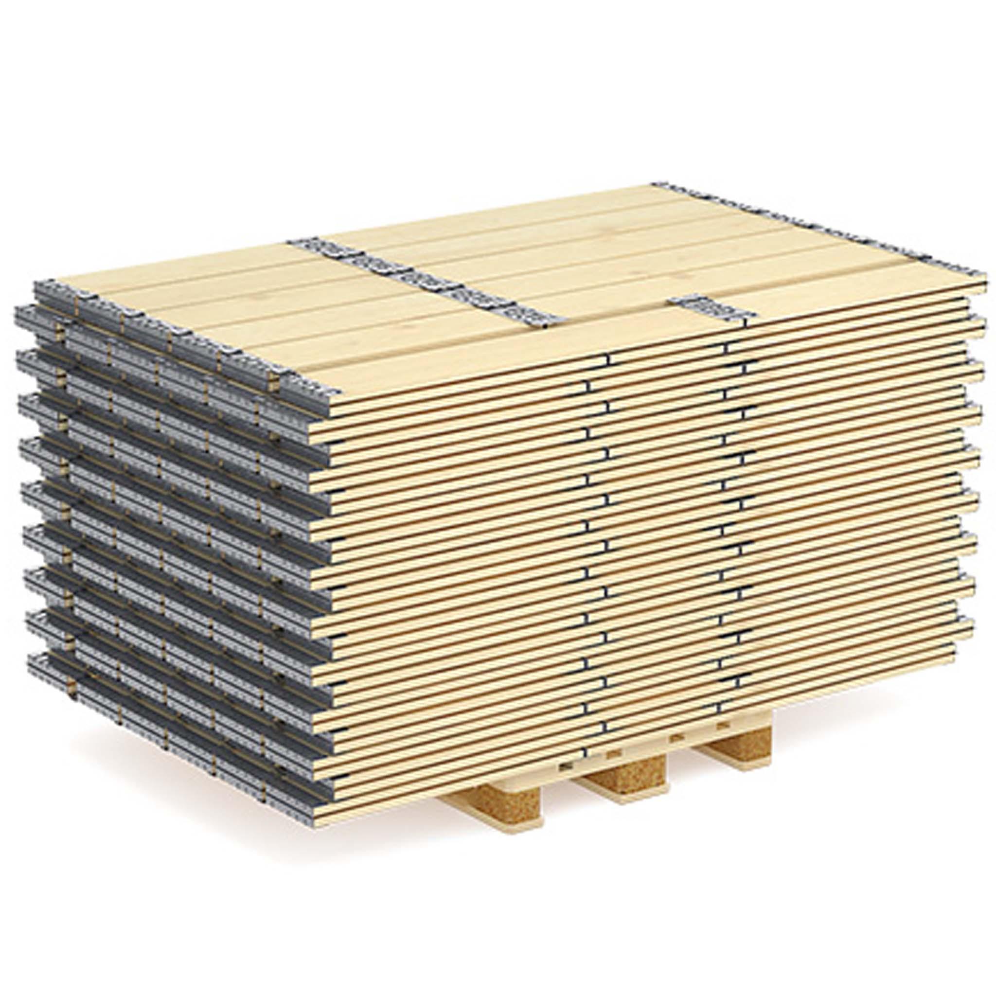 Holzaufsatzrahmen | 1-Brett Ausführung 6