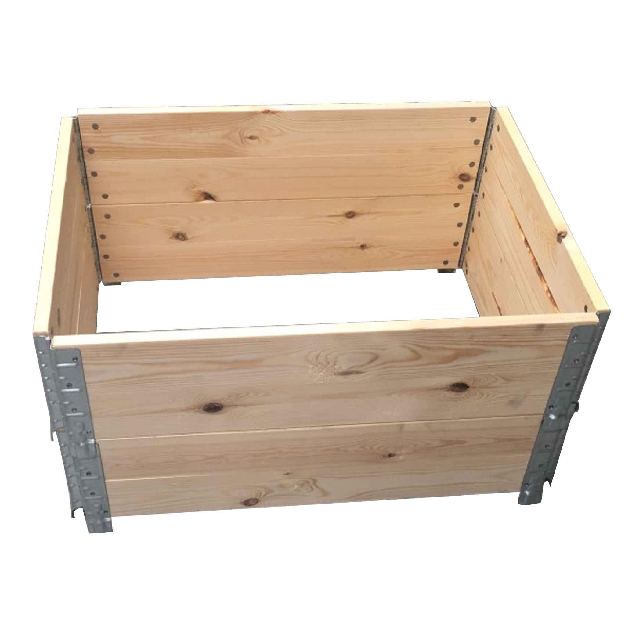 Holzaufsatzrahmen | 2-Brett Ausführung 1