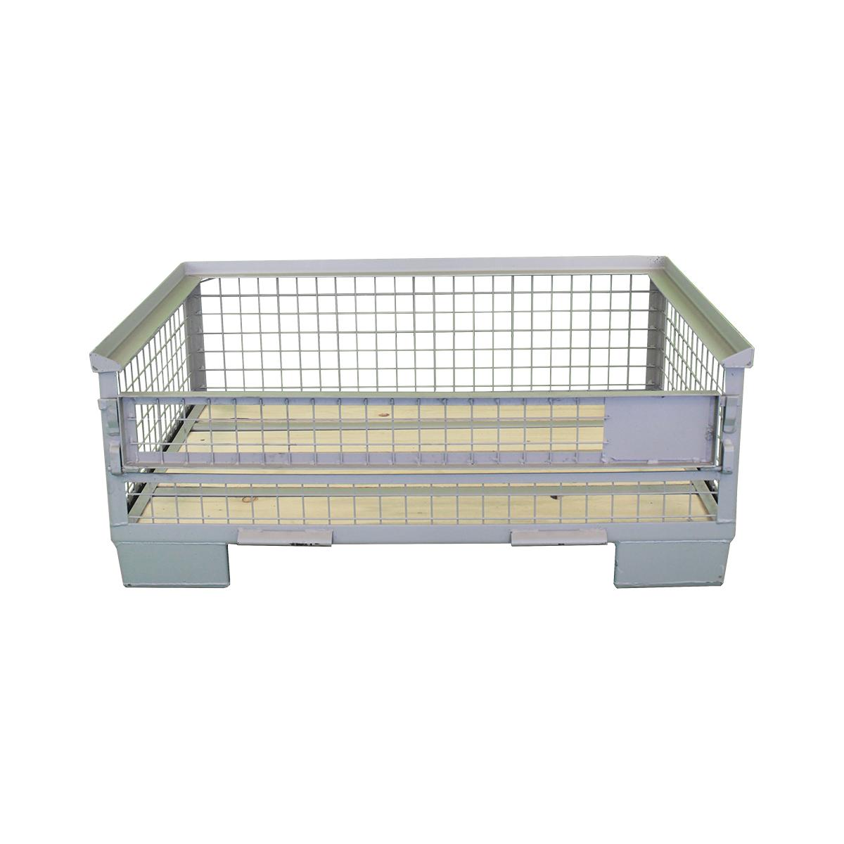 Halbhohe Industriegitterboxpalette 500 mm